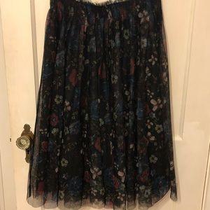 Lauren Conrad Disney Snow White tulle Skirt M